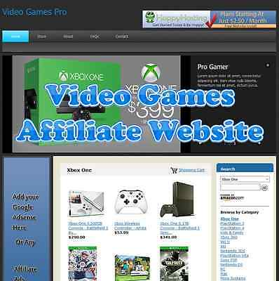 Automated Amazon Affiliate Video Games Website Business For Sale