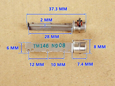 Micro 8mm Mini Stepper Motor 2-phase 4-wire Precision long Linear Screw shaft