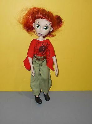 "10"" Disney Kim Possible Doll in Paratrooper Cargo Pants & Hollywood Red Shirt"