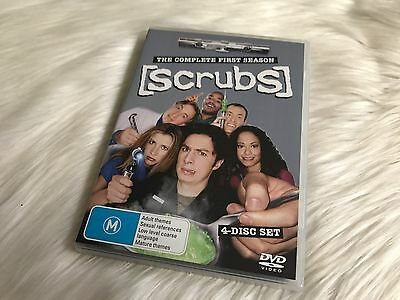 Scrubs The Complete First Season 1 - 4 Disc Set - DVD