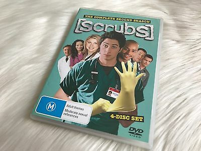 Scrubs The Complete Second Season 2 - 4 Disc Set - DVD