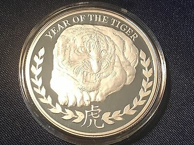 RARE COIN  2 available - 2010 Somaliland  Tiger  1 Troy Oz Fine Silver Proof