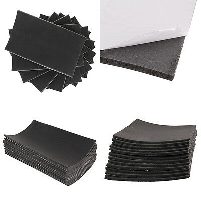 Car Van Insulation 12Pcs Foam Adhesive Sound Proofing Deadening 10mm Closed Cell