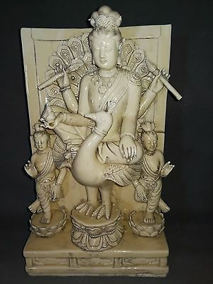beautiful chinese dehua kiln porcelain statues Kwan-yin