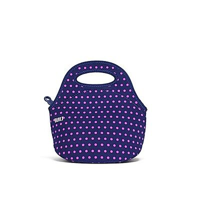 BUILT NY Mini Gourmet Getaway Lunch Bag - Mini Dot Navy
