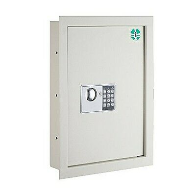 Electronic Economy Wall Safe .63 CF Hidden Large Safes Jewelry Secure NEW