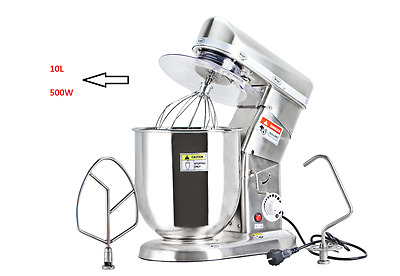 Stand Mixer 10L Professional Home Commercial Stainles Steel Electric Machine New