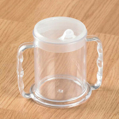 Wide Base Drinking Cup with Two Lids