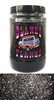 1lb Blakes Metal Flake .015 BLACK Hot Rod Custom Automotive