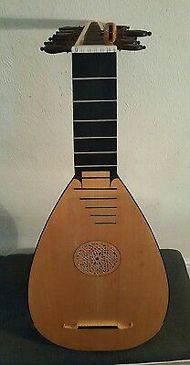 S.w.oliver Lute, 7C Renaissance, 1983, With Hard Case *see Description* 13 Strng