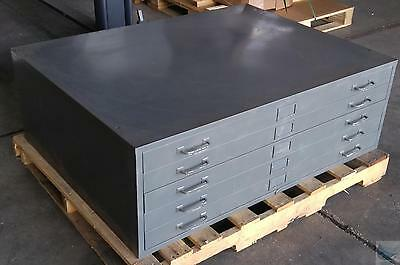 Cole Steel Five Drawer Blueprint Filing Cabinet 35 1/2'' x 46 1/2''