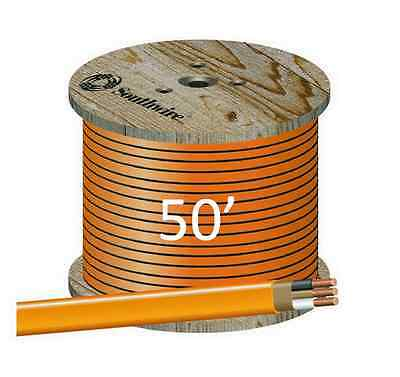 """10/2 NM/B (50') """"ROMEX"""" Non-Metallic Jacket, Copper Electrical Cable, 3 Wire"""