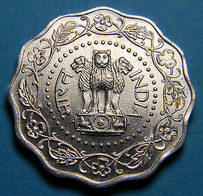 India 1974 10 Paise Coin Lot I-012