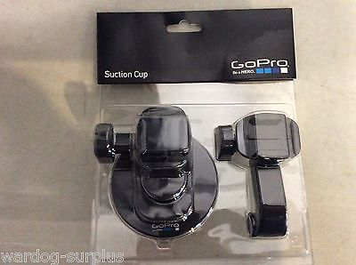 GoPro Suction Cup HERO Camera Mount Adjustable Arms Proven at 150 + MPH