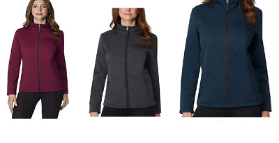 NEW 32 Degree Women's Plush Lined Tech Fleece Jackets-VARIETY
