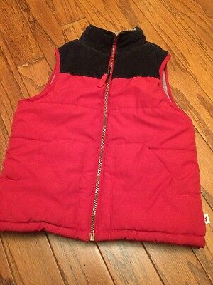 Carter's Red Boys 6 Youth Red Puffer Vest
