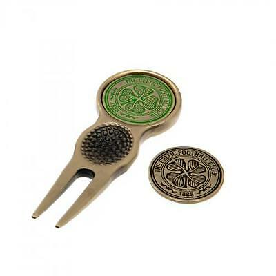Official Licensed Football Product Celtic FC Divot Tool & Marker Golf New