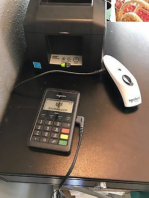 Complete Shopkeep POS System - includes barcode printer + barcode scanner!