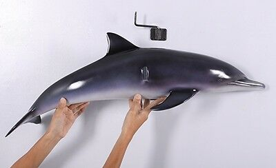 Dolphin wall mount replica