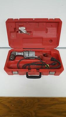 """Milwaukee 1107-1, 1/2"""" Corded Right Angle Drill with Case (FE2020419)"""