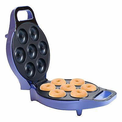 Mini Donut Maker Machine Electric Non Stick for 7 Donuts at once
