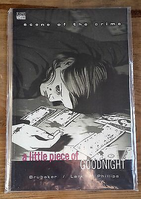 SCENE OF THE CRIME: A LITTLE PIECE OF GOODNIGHT by Ed Brubaker (Paperback)