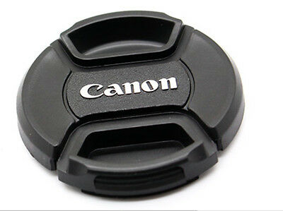 LC-62 Centre Pinch Front Lens Cap for canon  62mm filter thread Snap-on UK STOCK