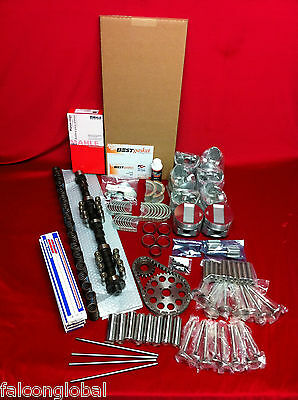 Pontiac 347 Deluxe engine kit 1957 pistons rings gaskets valves SPECIAL KIT