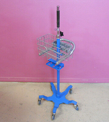 Dinamap Telescoping PROcare Patient Monitor Stand w/ Basket