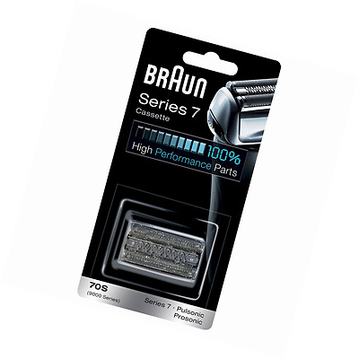 Braun 70S Series 7 Electric Shaver Replacement Foil & Cassette Cartridge Silver