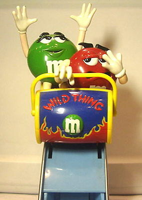 "M&M ""Wild Thing"" Roller Coaster Dispenser"