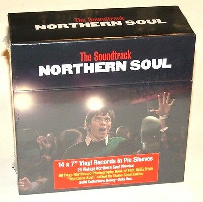 "NORTHERN SOUL the soundtrack 14x7"" singles RARE BOX SET still sealed"