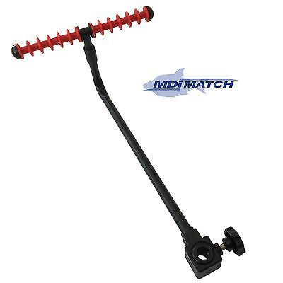 MDI Match Fishing Feeder-Method Arm Rest 42.5cm (17 inch) with Red Feeder Rest