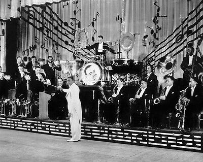 1935 JIMMIE LUNCEFORD & Jazz Orchestra Glossy 8x10 Photo Big Band Print Poster