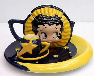 Betty Boop Celestial Mini Tea Set, Vandor Company, Item #12020