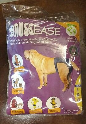 Integrated Pet Solutions SnuggEase Washable Dog Diaper LARGE NEW