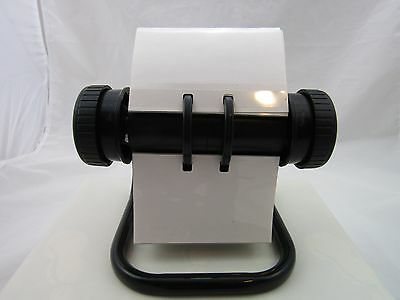 Rolodex Open Rotary Business Card File with 100 plus Card Sleeves with Plastic
