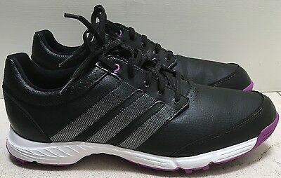 Adidas Womens W Response Light Golf Shoe Core Black,Iron Metallic,Flash Pink US