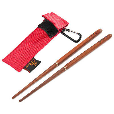 Hot Fire-maple Fmt-807 Camping Red Sandalwood Foldable Chopsticks with Bag Case