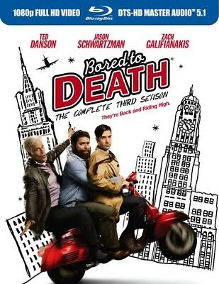 Bored to Death: The Complete Third Season [New Blu-ray] Ac-3/Dolby Digital, Di