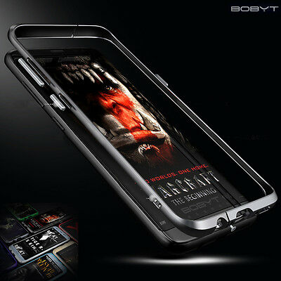 BOBYT Slim Aluminum Metal Bumper Frame Case Cover For Samsung Galaxy S8/S8+ Plus