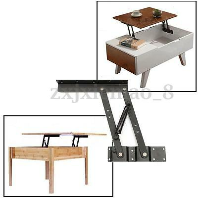 Lift Up Top Coffee Table Lifting Frame Mechanism Spring Hinge Hardware Parts