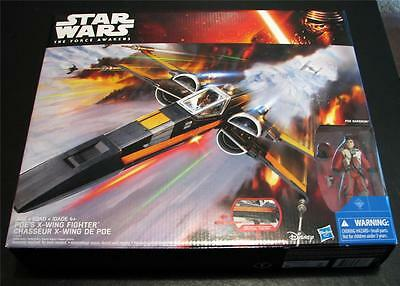 Hasbro Star Wars The Force Awakens Poe's X-Wing Fighter New in the Box