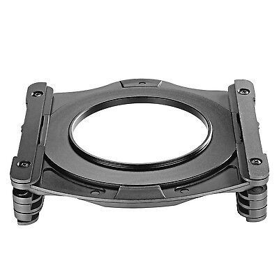 Neewer 100MM Z-Serie Filterhalter und Aluminium 72MM Objektiv-Adapter-Ring
