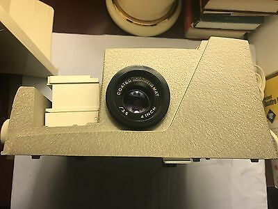 Vintage Sawyers 500S Slide Projector With Tray Tested Working