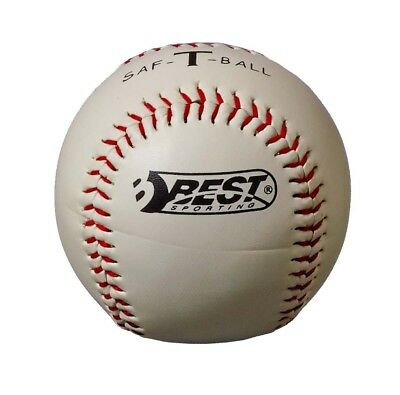 Best Sporting Soft-Baseball Baseball Teeball Soft Weiß