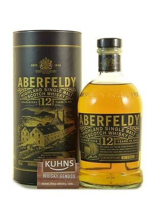 Aberfeldy 12 Jahre Highland Single Malt Scotch Whisky 0,7l, alc. 40%