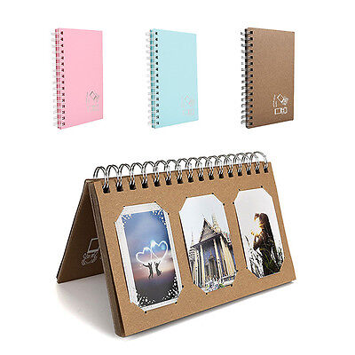 Book Style Photo Album For FujiFilm Instax Mini Polaroid Fuji Film Camera7s/8/90