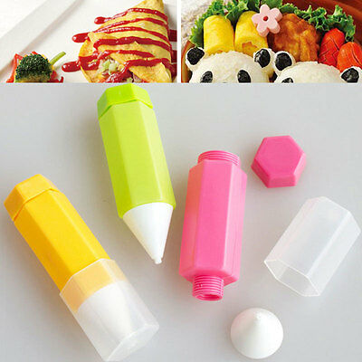 3pcs Silicone DIY Cake Biscuit Chocolate Icing Decoration Pen Bakeware