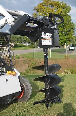 """Bobcat Skid Steer Attachment - Lowe 750 Round Auger with 24"""" Bit - Ship $199"""